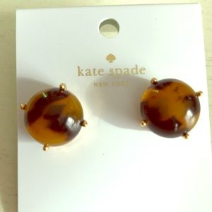 Kate Spade ♠️ Tortoise earrings! NWT